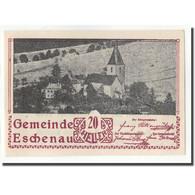 Billet, Autriche, Eschenau, 20 Heller, Paysage, 1920, SPL, Mehl:FS 186a - Autriche
