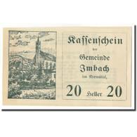 Billet, Autriche, Imbach, 20 Heller, Paysage 1, 1920, SPL, Mehl:FS 404 IIa - Autriche