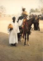 BENIN Province Du Borgou NIKKI Prince Bariba Et Son Griot 6(scan Recto-verso) MA635 - Benin