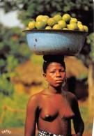 BENIN SAHOUE Vendeuse D Oranges 9(scan Recto-verso) MA635 - Benin