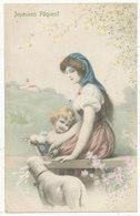 Joyeuses Pâques! 1908 Postcard - Easter