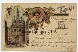 33 - BORDEAUX - Type GRUSS ++++ #1554 ++++ Vers Gand, BELGIQUE, 1898 - Bordeaux