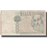 Billet, Italie, 1000 Lire, Undated (1982), KM:109a, B+ - [ 2] 1946-… : République
