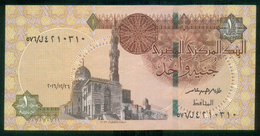 EGYPT / ONE POUND / DATE : 26 -12-2016 / P- 70 / PREFIX : L576 / SULTAN QUAYET BEY MOSQUE / ABU SIMBEL TEMPLE / USED - Egypte