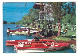 Australia, NSW, Darling River, Far West, Menindee Lakes, Copi Hollow, Broken Hill Speedboat Club, Ski Boats, Postcard - Australia