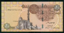 EGYPT / ONE POUND / DATE : 15 -5-2016 / P- 70 / PREFIX : L566 / SULTAN QUAYET BEY MOSQUE / ABU SIMBEL TEMPLE / UNC - Egypte