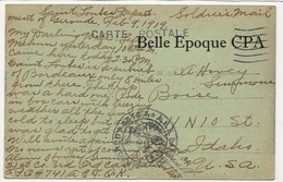 33 - SAINT-LOUBÈS - Avenue Du Port De Cavernes +++ US Army / Soldiers Mail / Censored / American Expeditionary Forces - Other Municipalities