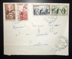 MAROKKO MOROCCO MARRUECOS  MAROC TIMBRE  ENVELOPPE COVER - Morocco (1956-...)