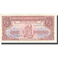 Billet, Grande-Bretagne, 1 Pound, Undated (1958), KM:M29, SPL+ - Emissions Militaires