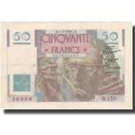 France, 50 Francs, 1951, 1951-02-01, TTB+, Fayette:20.17, KM:127c - 1871-1952 Antiguos Francos Circulantes En El XX Siglo