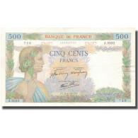 France, 500 Francs, 500 F 1940-1944 ''La Paix'', 1941, 1941-06-26, SUP+ - 1871-1952 Gedurende De XXste In Omloop