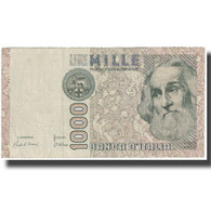 Billet, Italie, 1000 Lire, Undated (1982), KM:109a, TTB - 1000 Lire