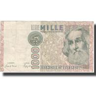 Billet, Italie, 1000 Lire, Undated (1982), KM:109b, TTB - [ 2] 1946-… : République