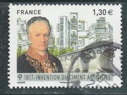 FRANCE 2017 VICAT INVENTION DU CIMENT ARTIFICIEL OBLITERE - YT 5153 - - France