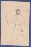India Portuguesa Xeque Assan Bin Ismal Portugal 1937 Exposition Paris 1937 Eduardo Malta Art - India