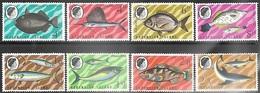 Ascention 1968-9    Sc#118-25   Fish Set   MNH    2016 Scott Value $10.55 - Ascension
