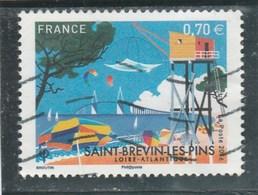 FRANCE 2016 TIMBRE OBLITERE SAINT BREVIN LES PINS YT 5047 - France
