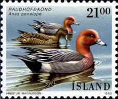 Islande Poste N** Yv:675/676 Faune Palmipèdes - 1944-... Republique