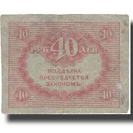 Billet, Russie, 40 Rubles, 1917, 1917-09-04, KM:39, TB+ - Russie