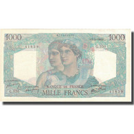 France, 1000 Francs, 1 000 F 1945-1950 ''Minerve Et Hercule'', 1946, 1946-10-03 - 1871-1952 Anciens Francs Circulés Au XXème