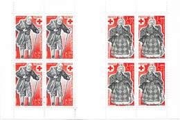 FRANCE N° 2026 De 1977 Croix Rouge N° 1959 Et 1960 - Carnets