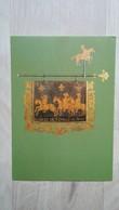 Ansichtskarte - Postmuseumskarte Mit Darstellung Eines Posthausschildes - Poste & Facteurs