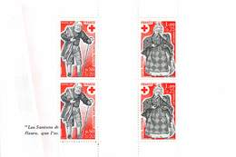 FRANCE 1977 Paire  Croix Rouge N° 1959 Et 1960 - Carnets