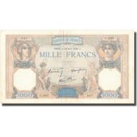 France, 1000 Francs, 1938, 1938-04-28, TTB, Fayette:38.12, KM:90c - 1871-1952 Anciens Francs Circulés Au XXème