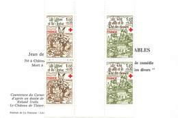FRANCE 1978 Croix Rouge PAIRE  N° 2024 Et 2025 - Carnets