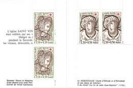 FRANCE 1979 Croix Rouge PAIRE   TIMBRES N° 2024 Et 2025 - Carnets