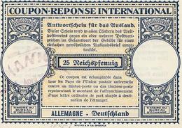 Internationaler Antwortschein Mank 1.4.1945 - Allemagne