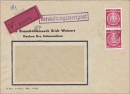 DDR:  Verwaltungswertpost Von Deuben Nach Schmalkhalden 1955 - Non Classés
