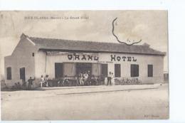 Cpa -  Maroc -      Souk-el-arba   Le Grand Hotel - Maroc