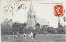 LANDAS: EGLISE ET PRESBYTERE - France