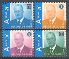 Belgium 2009 Mi 3913-3916 MNH ( ZE3 BLG3913-3916 ) - Royalties, Royals
