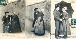 85 - Challans - Lot De 3 Cartes - Folklore : Le Maraîchinage - Challans