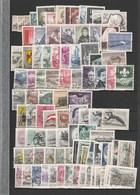 5 Jahrgänge 1960 - 1964 (ohne Bauten) Sonst Kpl. Gestempelt -- Günstig! - Blocks & Kleinbögen