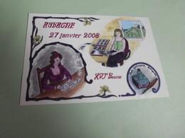 16E BOURSE DU CLUB CARTOPHILE AUBAGNAIS 2008 ...SIGNE JC MERIC - Bourses & Salons De Collections