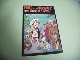 FOIRE A LA BROCANTE ..PLACE VIARME 1986...SIGNE BIDRET OLIVIER (500ex) - Bourses & Salons De Collections