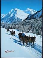 KLOSTERS Schlittenfahrt Nach Alp Novai - GR Grisons