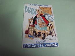 FOIRE A LA BROCANTE ..PLACE VIARME 1986...SIGNE FOURMER OLIVIER (500ex) - Bourses & Salons De Collections