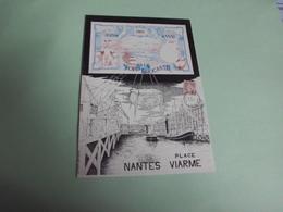FOIRE A LA BROCANTE ..PLACE VIARME NANTES 1985...SIGNE JL LEVENEZ (500ex) - Bourses & Salons De Collections