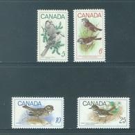 CANADA  - MNH/*** LUXE - 1968 1969 - BIRDS - OISEAUX VOGELS  - Yv 399 422-424 - Lot 18490 - 1952-.... Règne D'Elizabeth II