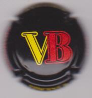 Capsule Champagne VINCENT B ( 14f , Noir  Jaune Et Rouge ) {S50-18} - Champagne