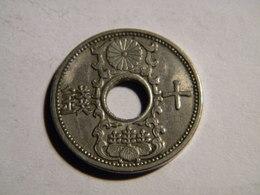 JAPON - 10 SEN 1934. - Japan