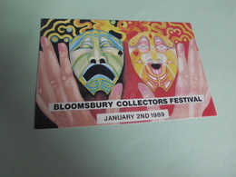 BLOOMSBURY COLLECTORS FESTIVAL ..1989 - Bourses & Salons De Collections