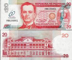 Philippines 2009 - 20 Piso - Pick 200 UNC Commemorative - Philippines
