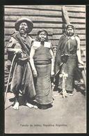 AK Familia De Indios, Typen Aus Argentinien - Indianer