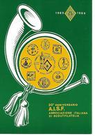B061 - 20° ANNIVERSARIO A.S.I.F. ASSOCIAZIONE ITALIANA DI SCOUT FILATELIA - 29.04.1989 - ANNULLO SPECIALE - Scoutismo