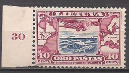 Litauen  (1934)  Mi.Nr.  386  ** / Mnh  (7ad37) - Lithuania